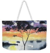Sunset Tree Koh Chang Thailand Weekender Tote Bag
