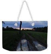 Sunset Treeflection Weekender Tote Bag