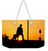 Sunset Tunnel Weekender Tote Bag