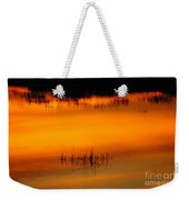 Sunset Tupper Lake Weekender Tote Bag