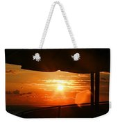 Sunset Under The Umbrella By Diana Sainz Weekender Tote Bag