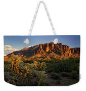 Sunset View Of The Superstitions  Weekender Tote Bag