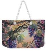 Sunset Vineyard Weekender Tote Bag