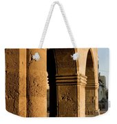 Sunset Wall Of The Old City Weekender Tote Bag