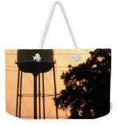 Sunset Water Tower Weekender Tote Bag