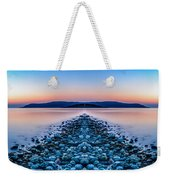 Sunset Way Weekender Tote Bag