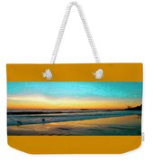 Sunset With Birds Weekender Tote Bag