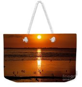 Sunset With The Birds Photo Weekender Tote Bag