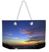 Sunset X Weekender Tote Bag