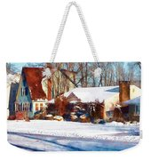 Sunshine After The Snow Weekender Tote Bag