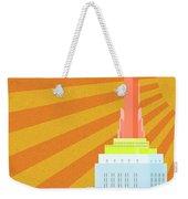 Sunshine City Weekender Tote Bag
