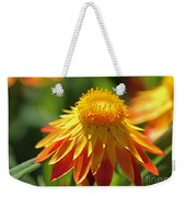 Sunshine Flowers Weekender Tote Bag