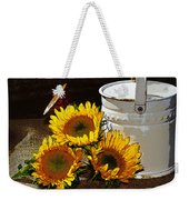 Sunshine From The Garden Weekender Tote Bag