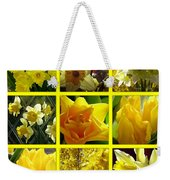 Sunshine Gold Picture Window Weekender Tote Bag