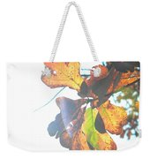 Sunshine Leaves Weekender Tote Bag