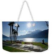 Sunshine Over A Lake Front Weekender Tote Bag