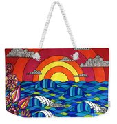 Sunshine Through My Window Weekender Tote Bag by Susan Claire
