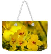 Sunshine Yellow Weekender Tote Bag
