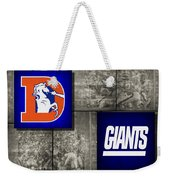 Super Bowl 21 Weekender Tote Bag