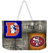 Super Bowl 24 Weekender Tote Bag