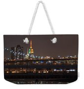 Super Bowl Colors Weekender Tote Bag