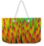 Super Macro Of Echinacea Cone Flower Weekender Tote Bag