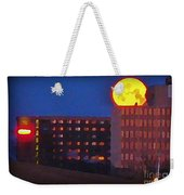 Super Moon In Halifax Nova Scotia Weekender Tote Bag