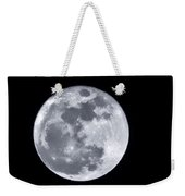 Super Moon Over Arizona  Weekender Tote Bag