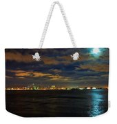 Super Moon Over San Diego 1 Weekender Tote Bag