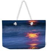 Super Moon Reflection Weekender Tote Bag