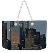 Super Moon Rising Weekender Tote Bag
