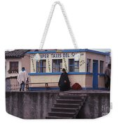 Super Taxi Stand Weekender Tote Bag