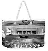 Super Yacht Ulisses Weekender Tote Bag