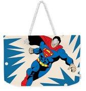 Superman 8 Weekender Tote Bag