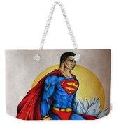 Superman Lives On Weekender Tote Bag
