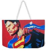 Superman - Red Sky Weekender Tote Bag
