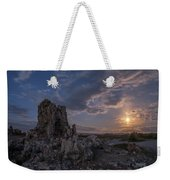 Supermoon At Mono Lake Weekender Tote Bag