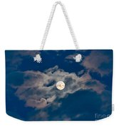 Supermoon Weekender Tote Bag