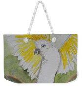 Suphar Crested Cockatoo Weekender Tote Bag