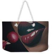 Supple Cherry Lips Weekender Tote Bag