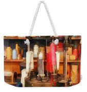 Supplies In Tailor Shop Weekender Tote Bag
