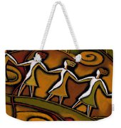 Support Weekender Tote Bag by Leon Zernitsky