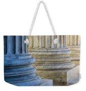 Supreme Court Colunms Weekender Tote Bag