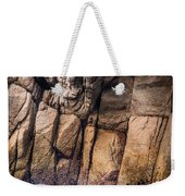 Surf And Cliff Weekender Tote Bag