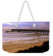Surf City Pier Weekender Tote Bag