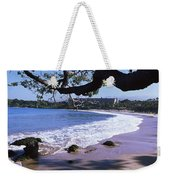 Surf On The Beach, Mauna Kea, Hawaii Weekender Tote Bag