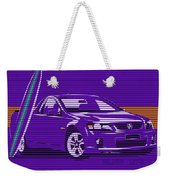 Surf Ute Purple Haze Weekender Tote Bag
