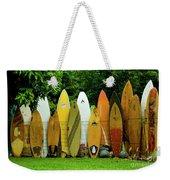 Surfboard Fence Maui Weekender Tote Bag
