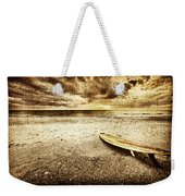 Surfboard On The Beach 2 Weekender Tote Bag