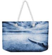 Surfboard On The Beach Weekender Tote Bag